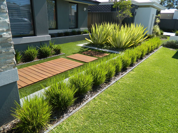 Artificial Turf Decoration and Landscaping