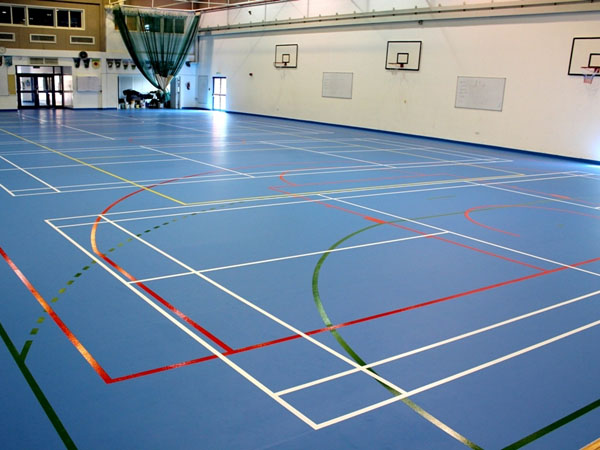 Sport and Fitness Areas Rubber Floorings